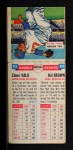 1955 Topps Double Header #85 #86 Elmer Valo / Hector Brown  Back Thumbnail