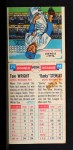 1955 Topps Double Header #75 #76 Tom Wright / Vernon Stewart  Back Thumbnail