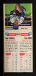 1955 Topps Double Header #119 #120 Mel Parnell / Tom Hurd  Back Thumbnail