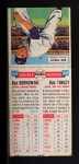 1955 Topps DoubleHeader #63 / 64 -  Bob Borkowski / Bob Turley  Back Thumbnail