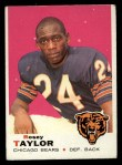 1969 Topps #208  Rosey Taylor  Front Thumbnail