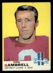 1969 Topps #101  Billy Gambrell  Front Thumbnail