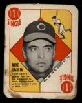 1951 Topps Red Back #40  Mike Garcia  Front Thumbnail