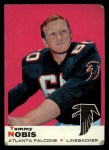 1969 Topps #93  Tommy Nobis  Front Thumbnail