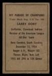1952 Berk Ross  Larry Doby  Back Thumbnail