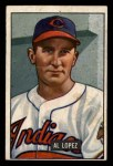 1951 Bowman #295  Al Lopez  Front Thumbnail