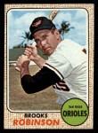 1968 Topps #20  Brooks Robinson  Front Thumbnail
