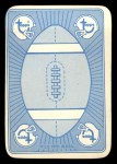 1971 Topps Game #10  Gale Sayers  Back Thumbnail