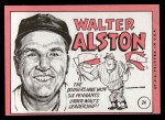 1969 Topps #24 *ERR* Walter Alston    Back Thumbnail