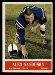 1964 Philadelphia #10  Alex Sandusky   Front Thumbnail