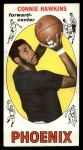 1969 Topps #15  Connie Hawkins  Front Thumbnail