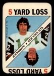 1971 Topps Game #3  Joe Namath  Front Thumbnail