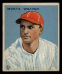 1933 Goudey #111  Monte Weaver  Front Thumbnail