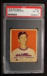1949 Bowman #161  Jocko Thompson  Front Thumbnail