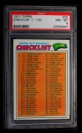 1977 Topps #32   Checklist 1 Front Thumbnail