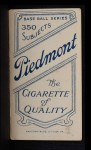 1909 T206 DET Matty McIntyre  Back Thumbnail