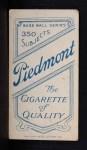 1909 T206  Fred Jacklitsch  Back Thumbnail