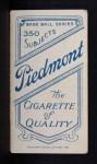 1909 T206  Deacon Phillippe  Back Thumbnail