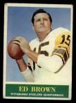 1964 Philadelphia #143  Ed Brown  Front Thumbnail