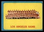 1963 Topps #48   Rams Team Front Thumbnail