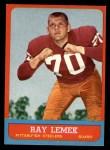 1963 Topps #127  Ray Lemek  Front Thumbnail