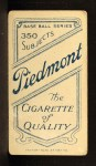 1909 T206  Red Dooin  Back Thumbnail
