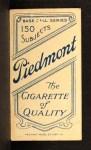 1909 T206 BOS Bill Dahlen  Back Thumbnail