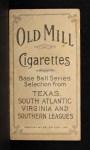 1909 T206 MON Jim Hart  Back Thumbnail