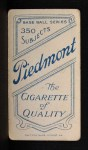 1909 T206 SHO Miller Huggins  Back Thumbnail