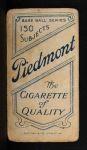 1909 T206  Dode Criss  Back Thumbnail