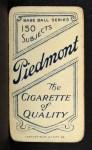 1909 T206  Jimmy Williams  Back Thumbnail