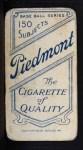 1909 T206  Charlie Hemphill  Back Thumbnail