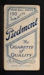 1909 T206 PCH Lefty Leifield  Back Thumbnail