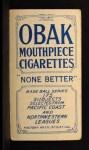 1910 T212 Obak xOLD George Zackert  Back Thumbnail