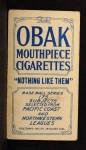 1910 T212 Obak xOLD Anson Mott  Back Thumbnail
