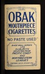 1910 T212 Obak xOLD Tom Tennant  Back Thumbnail