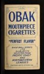 1910 T212 Obak 175 John Brackenridge  Back Thumbnail