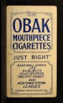 1910 T212 Obak xOLD Ed Kusel  Back Thumbnail