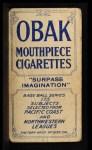 1910 T212 Obak xOLD Cap Dillon  Back Thumbnail