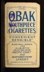 1910 T212 Obak xOLD Harry Sutor  Back Thumbnail