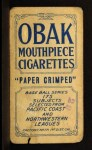 1910 T212 Obak xOLD Gurney  Back Thumbnail