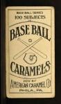 1909 E90-1 American Caramel  George Stovall  Back Thumbnail