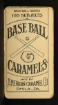 1909 E90-1 American Caramel  Wild Bill Donovan  Back Thumbnail