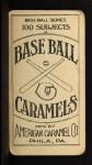 1909 E90-1 American Caramel  Harry McIntire   Back Thumbnail