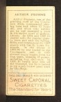1911 T205  Arthur Fromme  Back Thumbnail