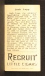 1912 T207  Jack Lapp    Back Thumbnail