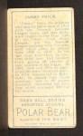 1911 T205 #66  Jimmy Frick  Back Thumbnail