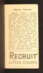 1912 T207  Hank Gowdy    Back Thumbnail