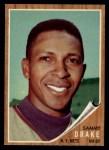 1962 Topps #162 GRN Sammy Drake  Front Thumbnail