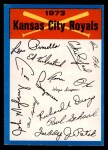 1973 Topps Blue Checklist   Royals Front Thumbnail